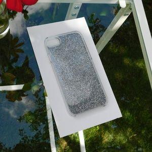 ☆Liquid Silver Glitter Iphone 7 & Iphone 8 Case☆